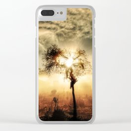 Tree of Lite Clear iPhone Case