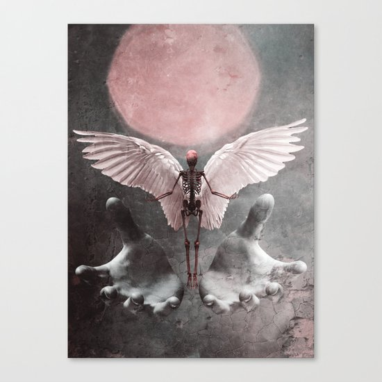 Fallen Angel 2 Canvas Print