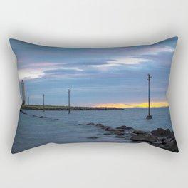 Grotta Lighthouse Rectangular Pillow