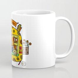 caravan flowerpower Coffee Mug