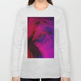 superimposed portrait Long Sleeve T-shirt