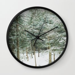 A Walk in the Woods {winter} Wall Clock
