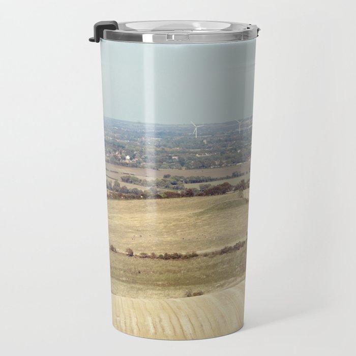 Autumn Landscape. Travel Mug