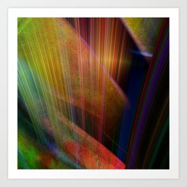 Multicolored abstract no. 73 Art Print