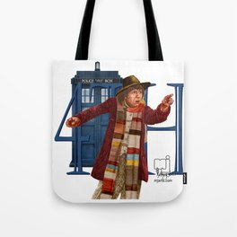 4th Doctor Tote Bag