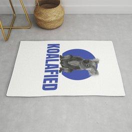 Highly Koalafied Plumber product Funny print Rug
