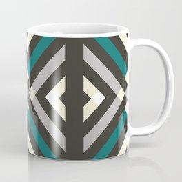 Dark Geometric Pattern Coffee Mug