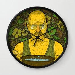 Cook (green) Wall Clock