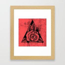 Rose Framed Art Print