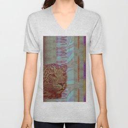 A Leopard Never Changes It's Stripes Unisex V-Neck