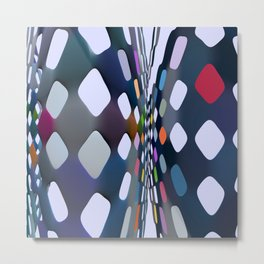 Abstract composition 575 Metal Print