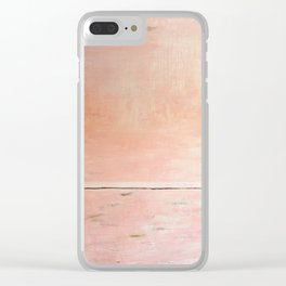 STILLNESS Clear iPhone Case