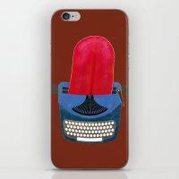 typewriter iPhone & iPod Skins featuring Typewriter by gunberk