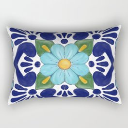 talavera tile 2 Rectangular Pillow