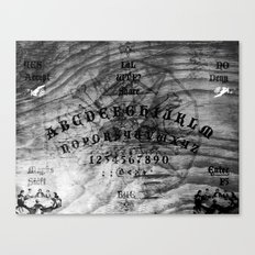 Modern Ouija Canvas Print