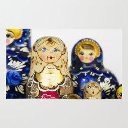 Babushka nesting dolls Rug