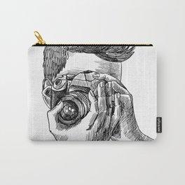 Photographer sketch portrait Carry-All Pouch