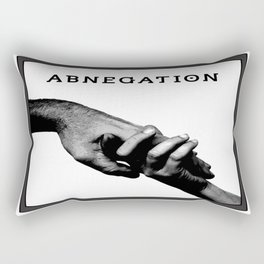 ABNEGATION - DIVERGENT (draw by me) Rectangular Pillow