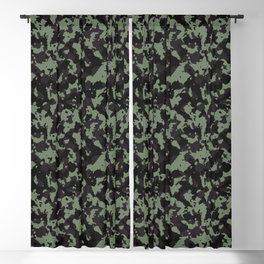 Military Urban Fashion Camouflage Pattern V.3 Blackout Curtain