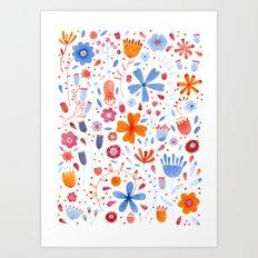 English Meadow Art Print