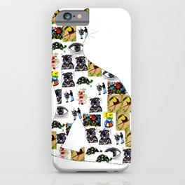 The Meow In A Collage iPhone Case