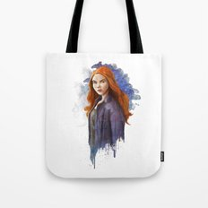 The Girl Who Waited Tote Bag