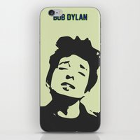 bob dylan iPhone & iPod Skins featuring Bob Dylan by trialposters