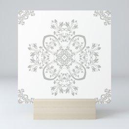 Mandala Florals Mini Art Print