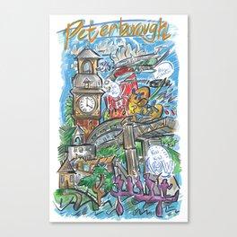 PTBO Mashup Canvas Print