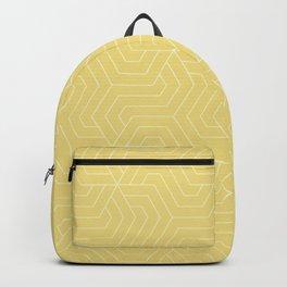 Flax - beige - Modern Vector Seamless Pattern Backpack
