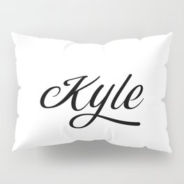 Name Kyle Pillow Sham