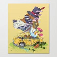 The Worn Traveler Canvas Print