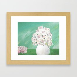 From the Garden Framed Art Print