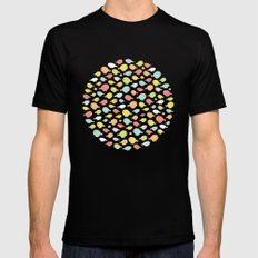 What the flock? MEDIUM Mens Fitted Tee Black