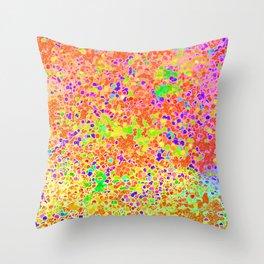 Confettimosaic Throw Pillow