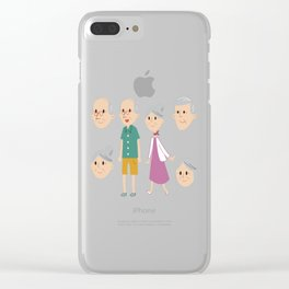Happy National Grandparents Day Clear iPhone Case