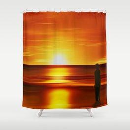 Gormley (Digital Art) Shower Curtain
