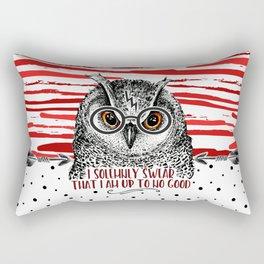 Owl HP swirl Rectangular Pillow