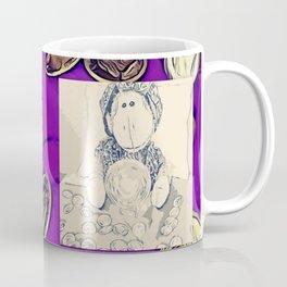 """""""Birthday Candle"""" Monkey Coffee Mug"""