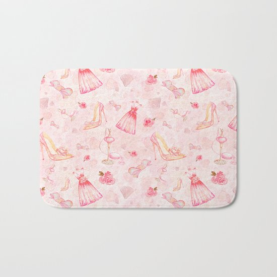 Pink dresses fashion #6 Bath Mat