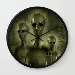 Alien Brothers Wall Clock
