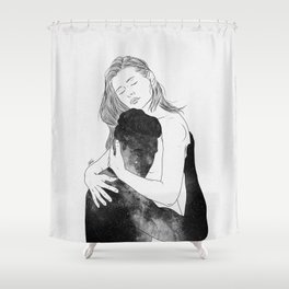 Deeply peaceful heaven. Shower Curtain