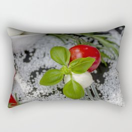 Italian appetizer Rectangular Pillow