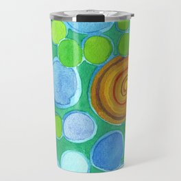 Stones under Water Travel Mug