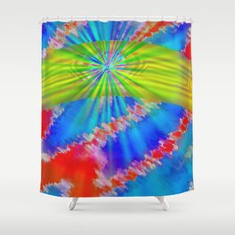 Abstract lighteffects -10- Shower Curtain