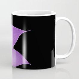 Agave Finesse #10 - Purple on Black #tropical #decor #art #society6 Coffee Mug