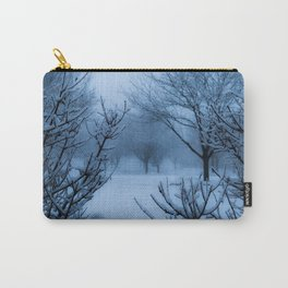 Foggy Winter Solstice Carry-All Pouch
