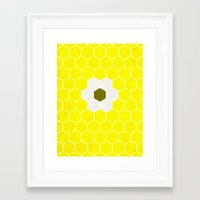 minion Framed Art Prints featuring Minion by Alexandre Reis
