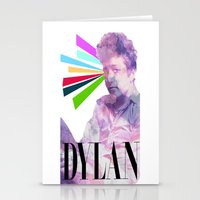 dylan Stationery Cards featuring Dylan by Coyvan