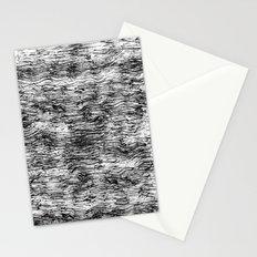 Black Pattern#4 Stationery Cards